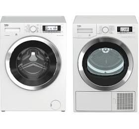 SET Pračka Beko WTV 8735 CSXC0ST + Sušička Beko DE 8635 CSDRX0