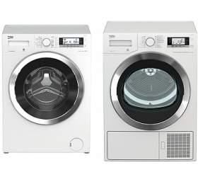 Beko WTV 8735 CSXC0ST + Sušička BEKO DE 8635 RX0 kondenzační