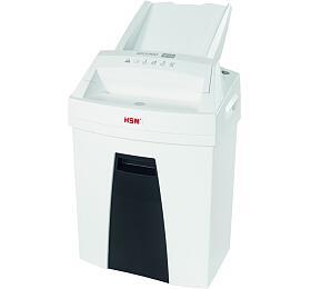 HSM skartovačka Securio AF100/ formát A4/ velikost řezu 4x25mm/ stupeň utajení 4/ automatický podavač/ bílá