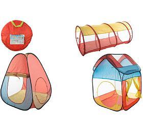 Set stany 2ks +tunel samorozkládací vtašce 50x50x3cm