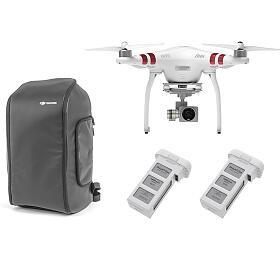 DJI kvadrokoptéra - dron, Phantom 3 Standard, 2 baterie navíc, Incase DJI Phantom Pro Pack