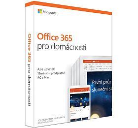 MS Office 365 pro domácnosti 32-bit/x64 Czech předplatné 1rok