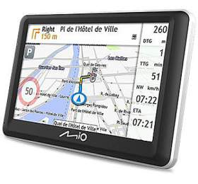 "MIO Spirit 7800 GPS navigace, LCD 5"", mapy EU, Lifetime"