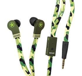 Maxell 303996 FLAT WIRE EP CAMO