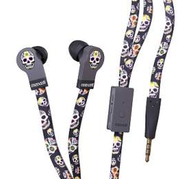 Maxell 303999 FLAT WIRE EP SKULL