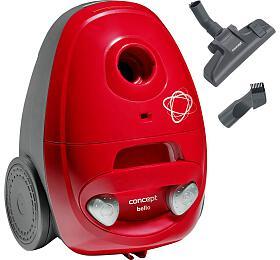 Concept VP8350 Sáčkový vysavač Bello červený 700 W