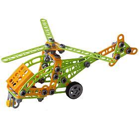 Seva Mechanik Hugo staví Vrtulník snářadím 130 dílků