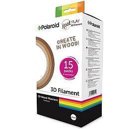 POLAROID ROOT Play 3DPen, tři barevné odstíny dřeva