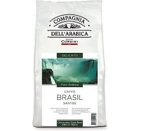CAFFÉ CORSINI BRASILE SANTOS kávová zrna 250g