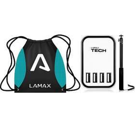 LAMAX + USB Smart Charger 4.5A LAMAX + Selfie tyč PRO 52 cm