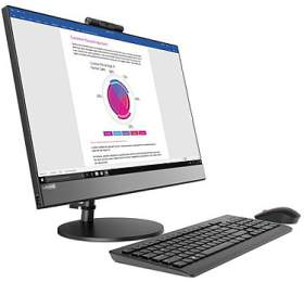 "Lenovo AIO V530 23,8"" FHD/i3-8100T/8GB/1TB HDD 5400rpm/Integrated/DVD-RW/Monitor/Win10PRO"