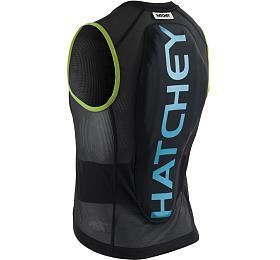 Hatchey Vest Air Fit Junior black/green/blue, XS