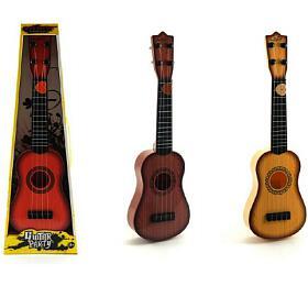 Kytara strsátkem plast 40cm asst 3barvy vkrabici