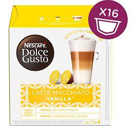 NESCAFÉ® Dolce Gusto® Latte Macchiato Vanilla kávové kapsle 16ks