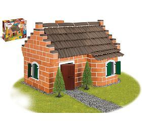 Stavebnice Teifoc Historický dům 370ks vkrabici 43x33x11cm