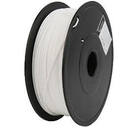 Tisková struna GEMBIRD, PLA PLUS, 1,75mm, 1kg, bílá