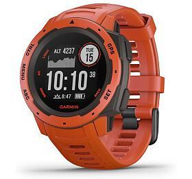 Garmin Instinct Red-Odolné outdoorové a multisportovní GPS hodinky
