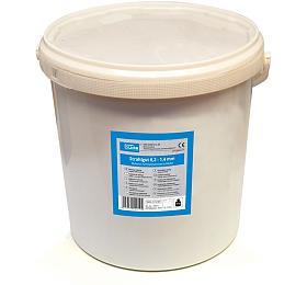 Tryskací materiál 15 kg, 0,2 - 1,4 mm GÜDE