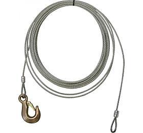 Ocelové lano, 10 m GÜDE
