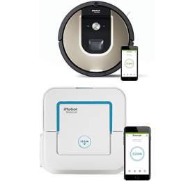 iRobot Roomba 966 +iRobot Braava jet 240