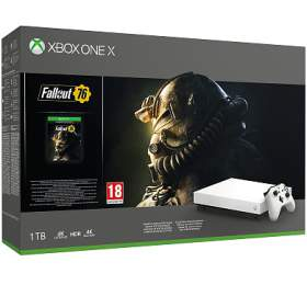 XBOX ONE X 1 TB + Fallout 76