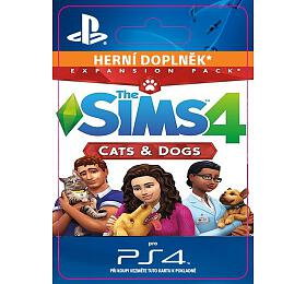 PS4 -THE SIMS 4+ CATS &DOGS