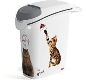 Kontejner nakrmivo kočky 10kg/23L CURVER