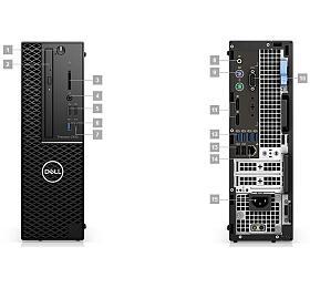 DELL Precision T3430/i7-8700/16GB/256GB SSD/Intel HD/Win 10 Pro 64bit/3Yr PS NBD
