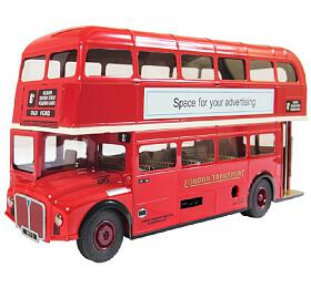 "Autobus Routemaster Bus RM5 ""Double Decker"" kov 1:36 vkrabici 25x13x8cm Kovap"