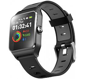"UMAX chytré hodinky U-Band P1PRO/ 1,3"" IPS/ Bluetooth 4.2/ MTK2511/ GPS/ ATM50/ iOS 8.0 +/Android 4.3 +/černé"