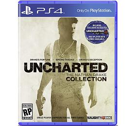 PS4 -Uncharted THE NATHAN DRAKE COLLECTION HITS