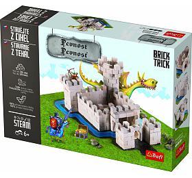 Stavějte zcihel Pevnost stavebnice Brick Trick vkrabici 36x25x7cm