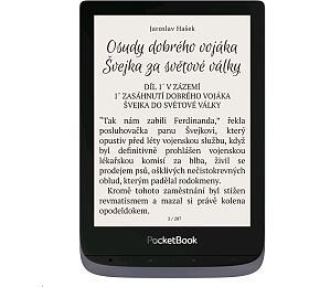 E-book POCKETBOOK 632 Touch HD3, Metallic Grey, 16GB