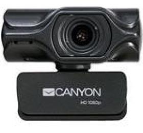 CANYON webkamera 2kUltra FHD, 3,2Mega, manual focus, USB2.0 ,otočná 360°, vestavěný mikrofon