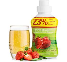 Sodastream 750ml příchuť zelený čaj-jahoda