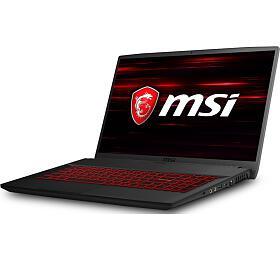 """MSI GF75 Thin 8RD-018CZ /i7-8750H Coffeelake/16GB/256 SSD +1TB HDD/ GTX 1050 Ti, 4GB/17,3""""FHD IPS/Win10"""