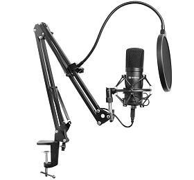 Sandberg Streamer USB mikrofon Kit, černý