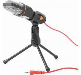 GEMBIRD Desktop microphone with atripod, black