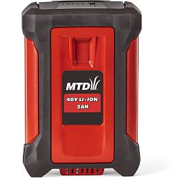 MTD 40V lithium iontová baterie 2Ah