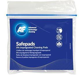 AF Safepads - čistící ubrousky impregnované isopropylalkoholem, 10 ks