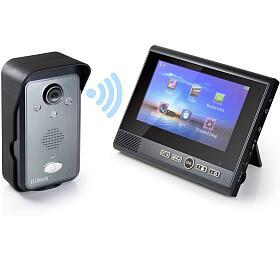 """Technaxx bezdrátový video zvonek skamerou včetně LCD monitoru 7"""""""
