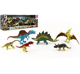Sada Dinosaurus hýbající se6ks plast vkrabici 48x17x13cm