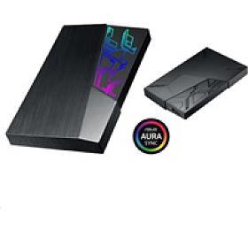 "ASUS AURA Ext. HDD 1TB EHD-A1T, 2,5"", 1TB, USB 3.1, Black, RGB"