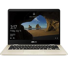 """ASUS ZenBook UX461FA -14T""""/i5-8265U/256SSD/8G/W10 zlatý"""