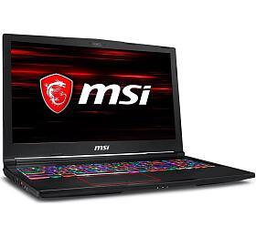 """MSI GE63 Raider RGB 8SG-018CZ/i7-8750H Coffeelake/16GB/256GB SSD +1TB HDD/RTX2080, 8GB/15.6"""" FHD 144Hz/Win10"""