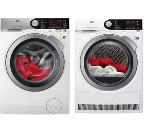 SET Pračka AEG ÖKOMix® L8FEC49SC + Sušička prádla AEG AbsoluteCare® T8DBE48SC