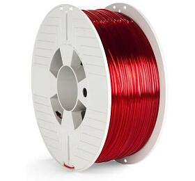 Verbatim PET-G struna 1,75 mmpro 3Dtiskárnu, 1kg, červená transparent