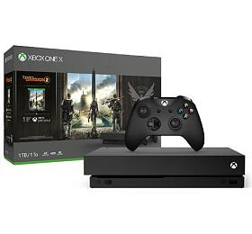 XBOX ONE X 1 TB + Tom Clancy's The Division 2