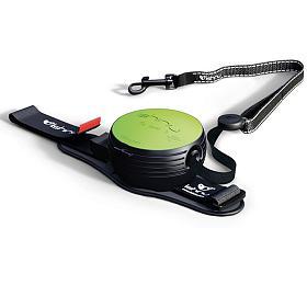Lishinu2 vodítko s páskem, zelené