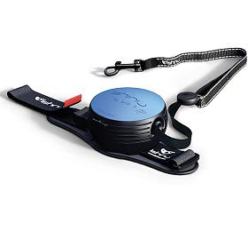 Lishinu2 vodítko s páskem, modré